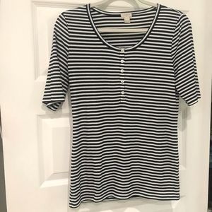 J Crew Striped T-Shirt
